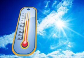 high temperature in t he summer